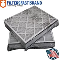 FiltersFast Compatible Replacement for Trion MERV 8 Comp. Air Bear Furnace Filter 2-Pack 20 x 20 x 5 (Actual Size: 19 11/16 x 20 11/16 x 4 7/8) 255649-103