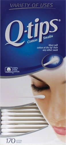 Q-Tips Cotton Swabs, 170 Count, Pack of 6 by Q-Tips