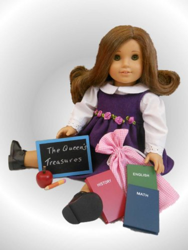 School Desk Supply Accessory Set for American Girl 18″ Dolls, Baby & Kids Zone