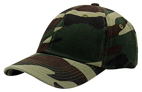 - Top Level Baseball Cap for Men Women - Classic Cotton Dad Hat Plain Cap Low Profile, CAM Camo