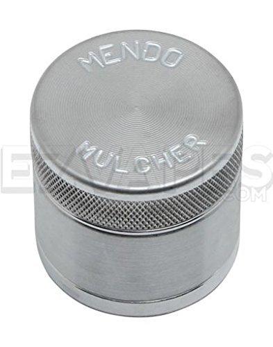 Mendo Mulcher Billet Aluminum 4 Piece Grinder with Screen (1.75 Inch (Mini), Aluminum) by Mendo Mulcher