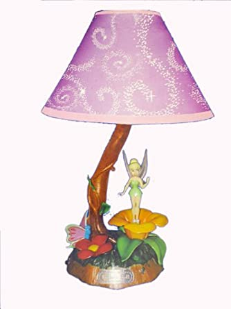 KNG Disney Fairies: Tinkerbell Animated Lamp - Table Lamps ...