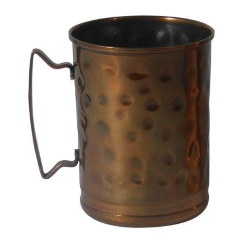 World Tableware MM-200 Hammered Copper 14 Ounce Cup - 12 / CS