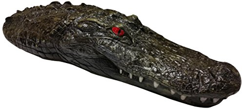 Floating Gator (Outdoor Water Solutions Floating Gator Kickboard for Ponds, Lakes, Pools, Alligator)