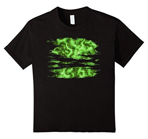 Kids Green Muscle Guts Zombie Costume DIY Cheap Gore 4 (Zombie Costume Diy)