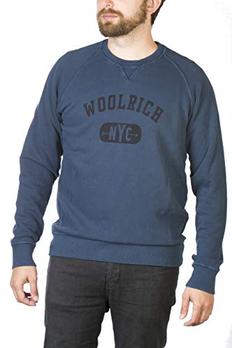 Uomo mood Woolrich 3731 Indigo Viola Maglione UwUxnH5