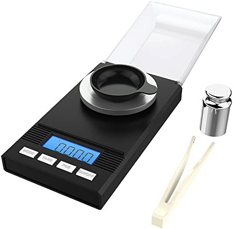 Homgeek Milligram Calibration Tweezers Weighing product image