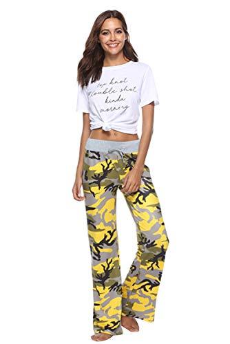 per Hop Alta Color 37 Palestra Estivo Pantalone Sportivi Pants Jogging Boho Lungo Hip Pantaloni Vita Wide Stampa Donna Chic Jumpsuit Yoga Floreale Hippie Baggy Larghi Tuta Harem Pigiama Trousers Leg Danza gqqAYRx