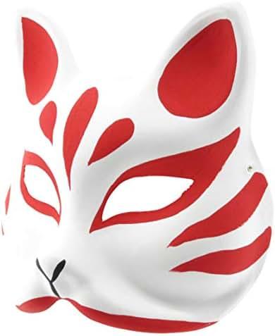 Mask / mask / mask (Mask of fox) Mask of cosplay accessory, handmade tools, fox (japan import) by COSSKY