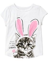 Gymboree Big Girls' Short Sleeve Cat in Bunny Ears...