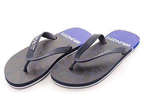 41 EVA Azul complementos Oscuro Zapatos Azul Chanclas Oscuro Verano Errani EU Sandalias Brunotti Talla 41 Amazon 161315102 Zapatos y es de v7U8R