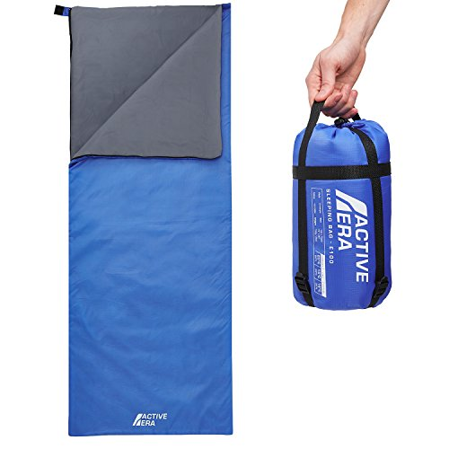Ultra Lightweight Sleeping Bag - Perfect for Warm Weather, Sleepovers, Outdoor Camping and Hiking in the Summer - Summer Camping