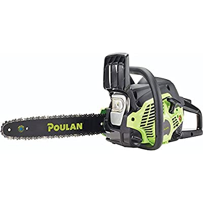 Poulan 967061601 33cc 2 Stroke Poulan Gas Powered Chainsaw, 14""
