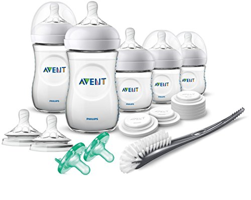 (Philips Avent Natural Baby Bottle Newborn Starter Gift Set,)