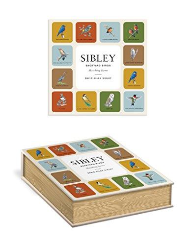 Sibley Backyard Birds Matching Game: A Memory Game with 20 Matching Pairs for Children (Sibley Birds) ()