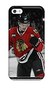 Protective Tpu Case With Fashion Design For Iphone 5/5s (chicago Blackhawks (56) )