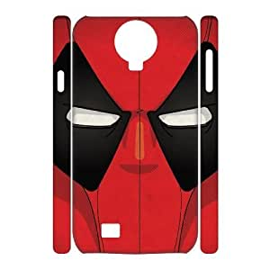 Hjqi - Custom Deadpool 3D Phone Case, Deadpool Customized Case for SamSung Galaxy S4 I9500
