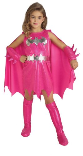 Rubie's Pink Batgirl Child's Costume, -