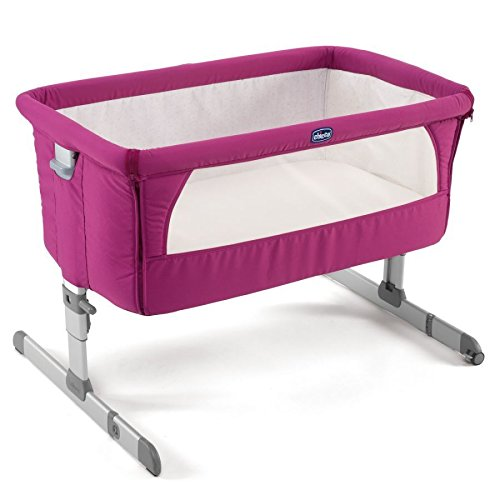 chicco-2015-side-sleeping-crib-next2me-fuchsia-baby-crib-next-2-me-brand-new