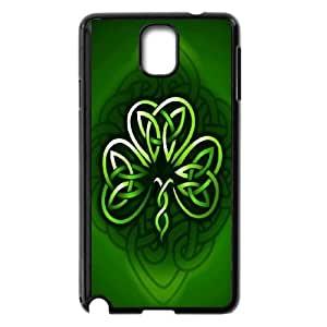 Unique Phone Case Pattern 15Irish Flag - Lucky Clovers- For Samsung Galaxy NOTE4 Case Cover
