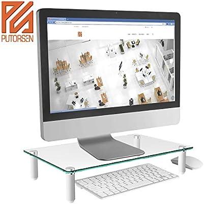 PUTORSEN® Soporte de Monitor pc: Amazon.es: Electrónica