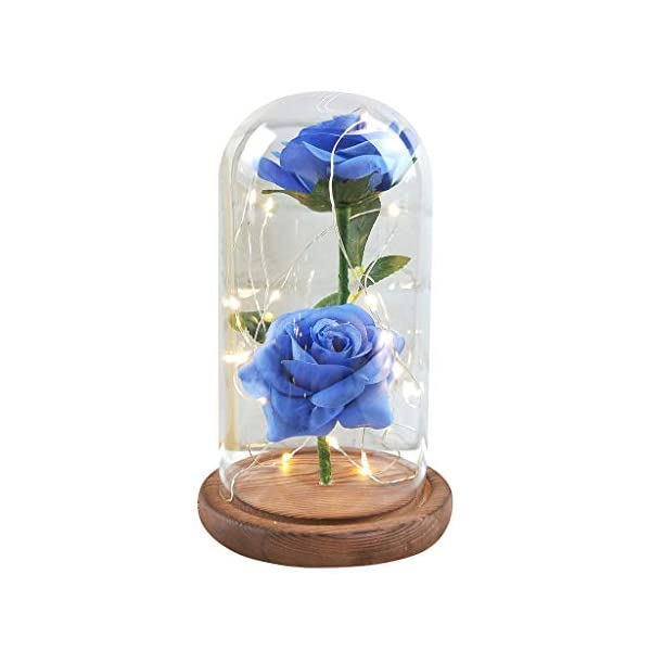 Longay-Romantic-Glass-Rose-Wedding-Decoration-Home-Furnishing-Holiday-Gifts
