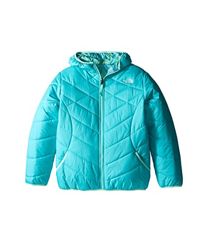 The North Face Reversible Perrito Jacket Girls' Ion Blue Small by The North Face