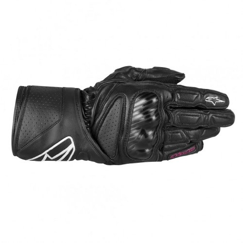 Alpinestars Womens Stella SP-8 Leather Gloves 2013 Black S/Small