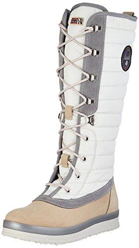 Kilim Footwear Multicolor para Mujer de NAPAPIJRI Beige Botas Gaby N102 Nieve BRxq8PZ