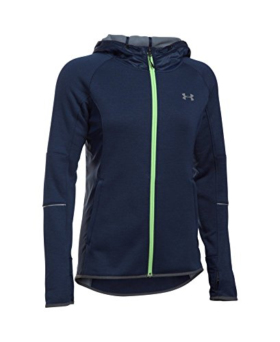 Under Armour Women's Storm Swacket Full Zip, Midnight Navy/Midnight Navy, Medium by Under Armour (Image #3)