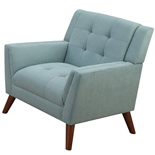Furniture World Mid Century Armchair, Turquoise
