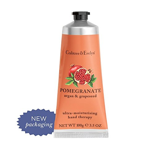 Crabtree & Evelyn Ultra Moisturising Hand Therapy Pomegranate Argan and Grapeseed, 3.5 Oz