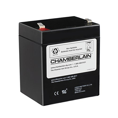 chamberlain liftmaster craftsman replacement battery for battery backup equipped garage door openers