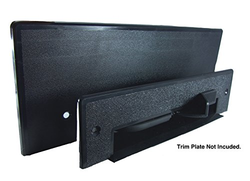 Central Vacuum VacPan - Automatic Dustpan for Built in Central Vacuum Systems - Under Counter or In-Wall Dust Pan for Central Vacuums - BLACK by Central/Built-in Vacuum System Inlet/Valve (Image #2)
