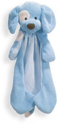 Baby Gund Satin Blankets (Gund Baby HuggyBuddy - Collections (Spunky - Blue))