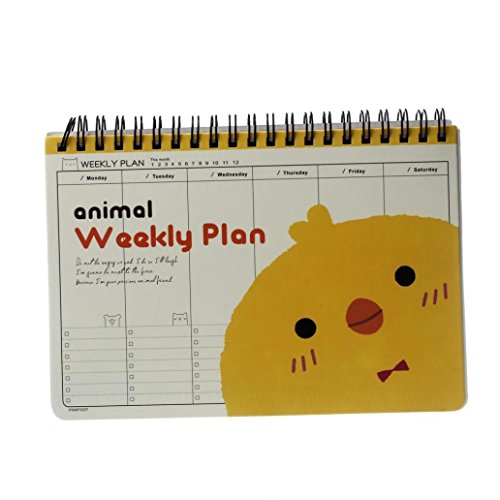 Cute Planner Joopee Cute Kawaii Chick Diary Weekly Planner Agenda Notepad Notebook Cute (Weekly 2015 Planner Kawaii)