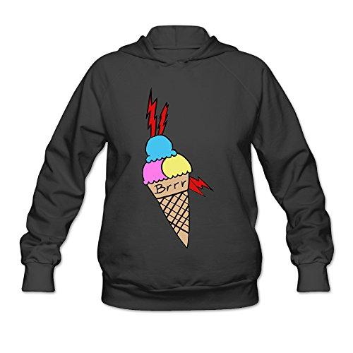 PHOEB Womens Sportswear Drawstring Hoodie Sweatshirt,Gucci Mane Black XX-Large