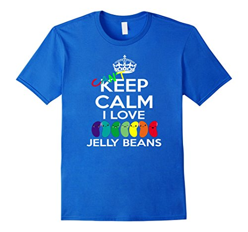 Mens Can't Keep Calm I love Jelly Beans, funny T-Shirt XL Ro