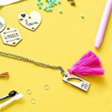 STMT DIY Wooden charm & Tassel Jewelry Art
