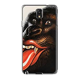 Samsung Galaxy Note3 RkN8101QohD Allow Personal Design Realistic Rolling Stones Skin Excellent Hard Cell-phone Cases -CharlesPoirier