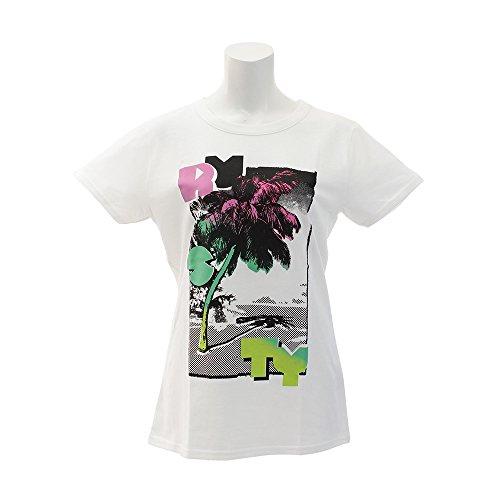 ラスティ(ラスティ) ヤシの木プリントTシャツ 938500WHT (ホワイト/L/Lady's)
