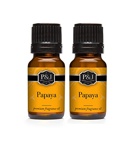 - Papaya Fragrance Oil - Premium Grade Scented Oil - 10ml - 2-Pack