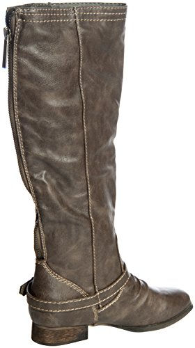 Breckelles Outlaw-91 Womens Kneet Høyt Riding Boot Taupe ...