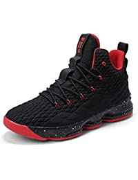 finest selection eb083 bc6f5 Womens Mens Fashion Basketball Shoes Wear Resistant Flyknit Sneakers