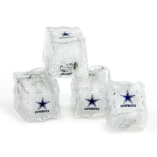 Nfl Cube (NFL Light Up Ice Cubes (Set of 4) NFL Team: Dallas Cowboys)