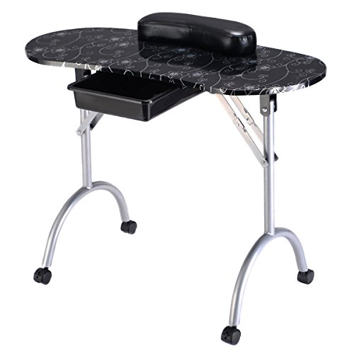 portable manicure table