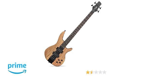 Rocktile LB104-N Pro LowBone - Bajo eléctrico, color natural: Amazon.es: Instrumentos musicales