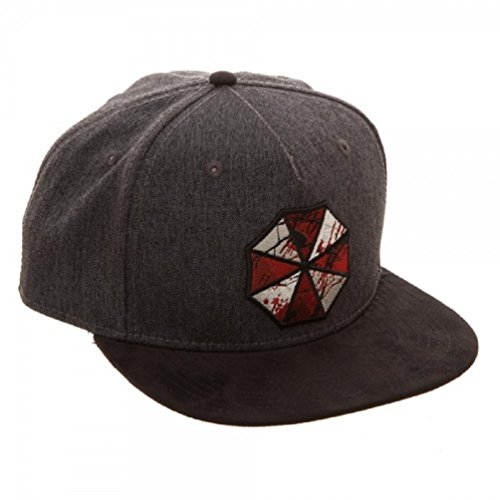 Evil 1 Costumes Resident (Bioworld- Resident Evil The Final Chapter Snapback Hat- One Size Fits)