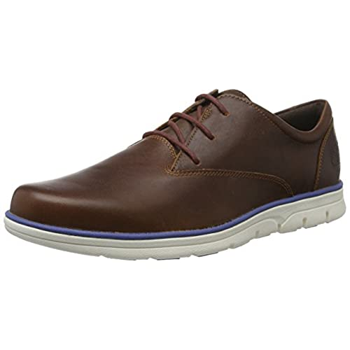 Timberland Stormbuck Waterproof Oxford, Zapatos Hombre, Marrón (Dark Brown Full-Grain), 43 EU (Talla fabricante: 9 M US)