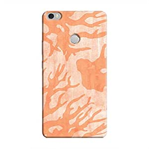 Cover It Up - Pink Shades Nature Print Mi Max Hard Case